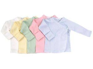 Long Sleeve Side Snap Undershirt