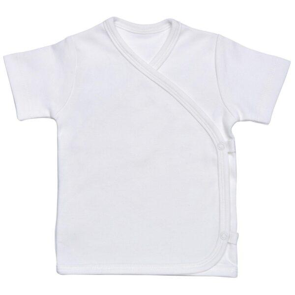 SS Side Snap T-Shirt - light blue