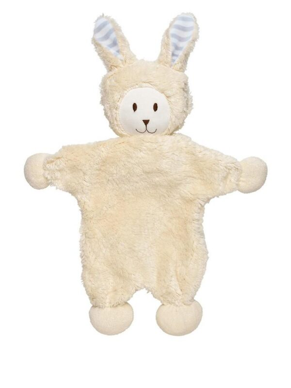 Stripe Ear Snuggle Bunny
