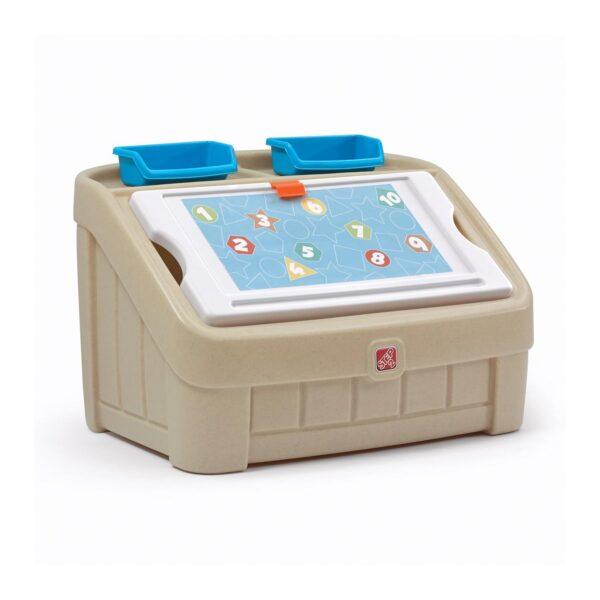 2-in-1 Toy Box & Art Lid