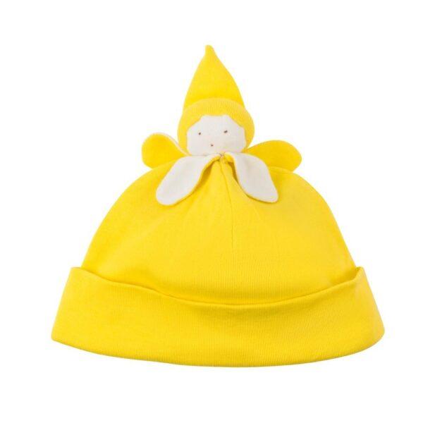 Organic Cotton Banana Baby Beanie Hat