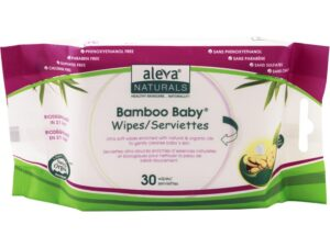 Bamboo Baby Travel Wipes, 30 Count