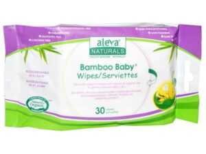 Bamboo Baby Wipes Travel - 30 Count