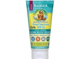 SPF 30 Baby Sunscreen - Chamomile & Calendula 2.9 Oz