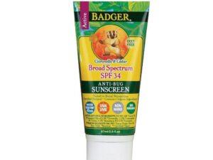 SPF 34 Anti-Bug Sunscreen 2.9 Oz
