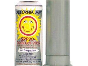 Sunscreen Stick SPF 30+ No Fragrance 0.50 oz Stick